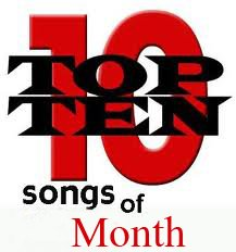 Top Ten English Songs Of The Month