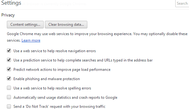 How to Stop Websites to Run Plugins on Google Chrome
