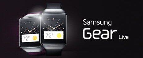 Samsung Gear Live, Android Wear Smart Watch, First Look