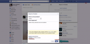 How to Report a Problem on Facebook